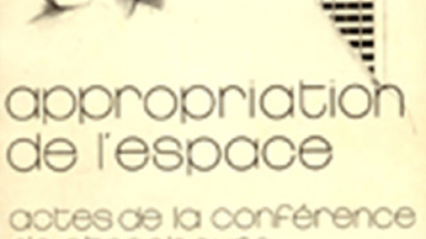 Appropriation de l'Espace